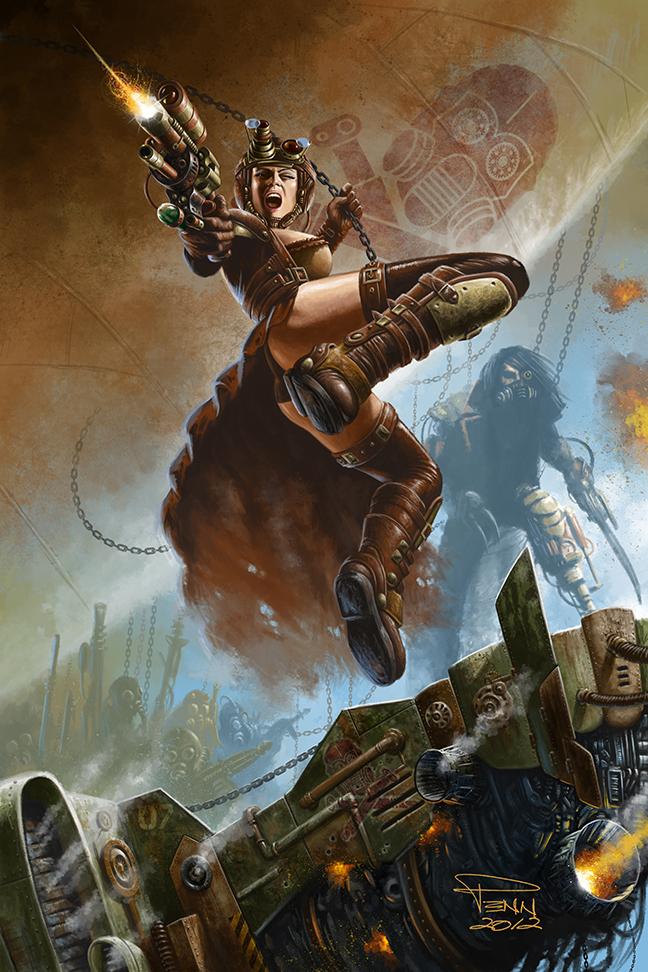 Steampunk Pirates by madadman