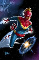 Captain Marvel-Mask