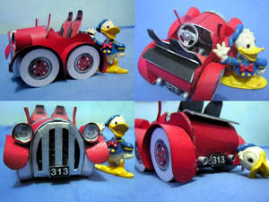 Donald Duck's Tuned Car
