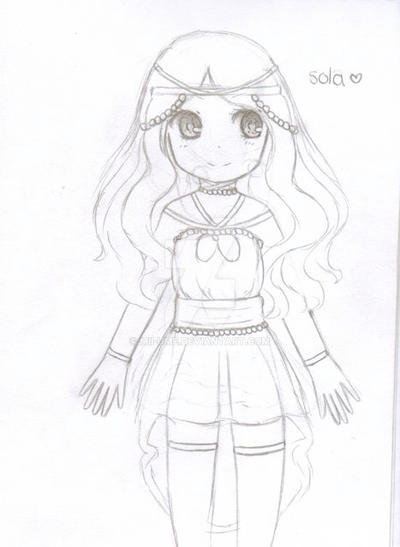 Sola (twin oc with tasuu) by Mii-Ume