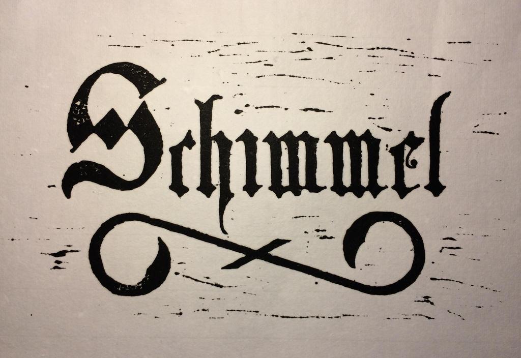 Schimmel Woodcut