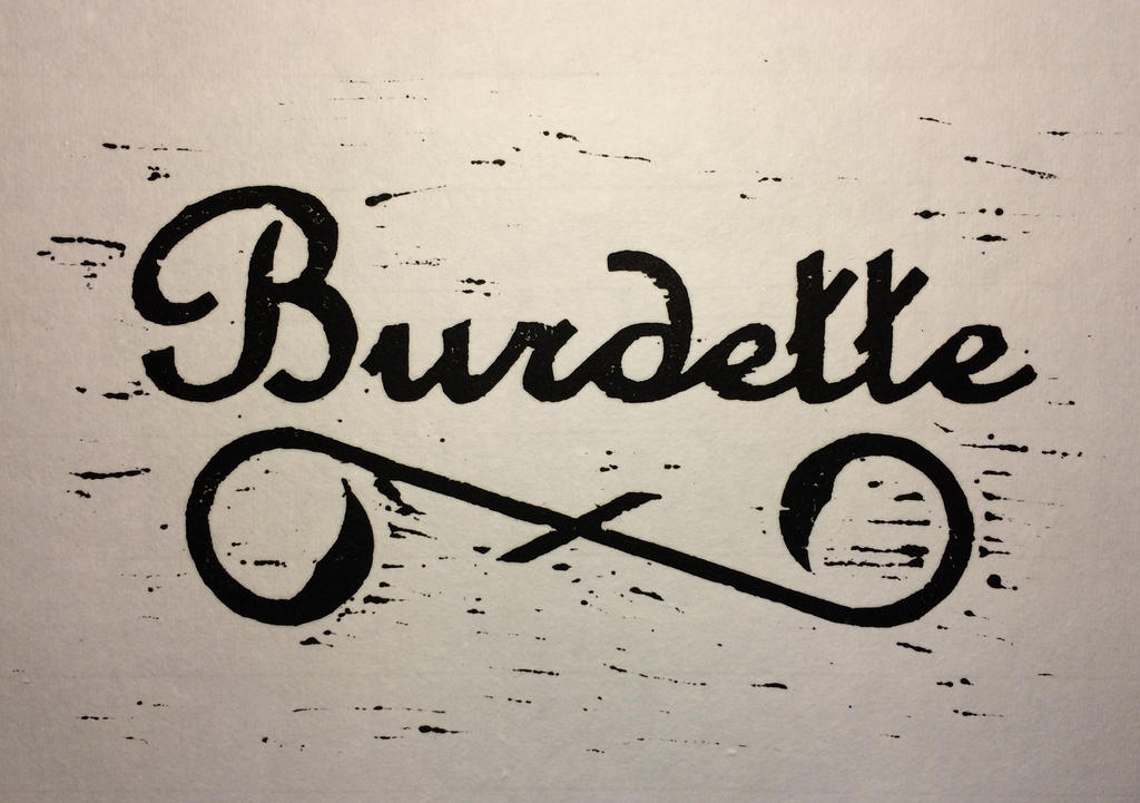 Burdette Woodcut