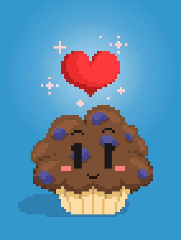 The Blueberry to my Muffin ^-^ by AiriMuffins