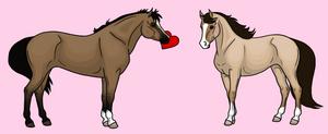 V-Day Horses