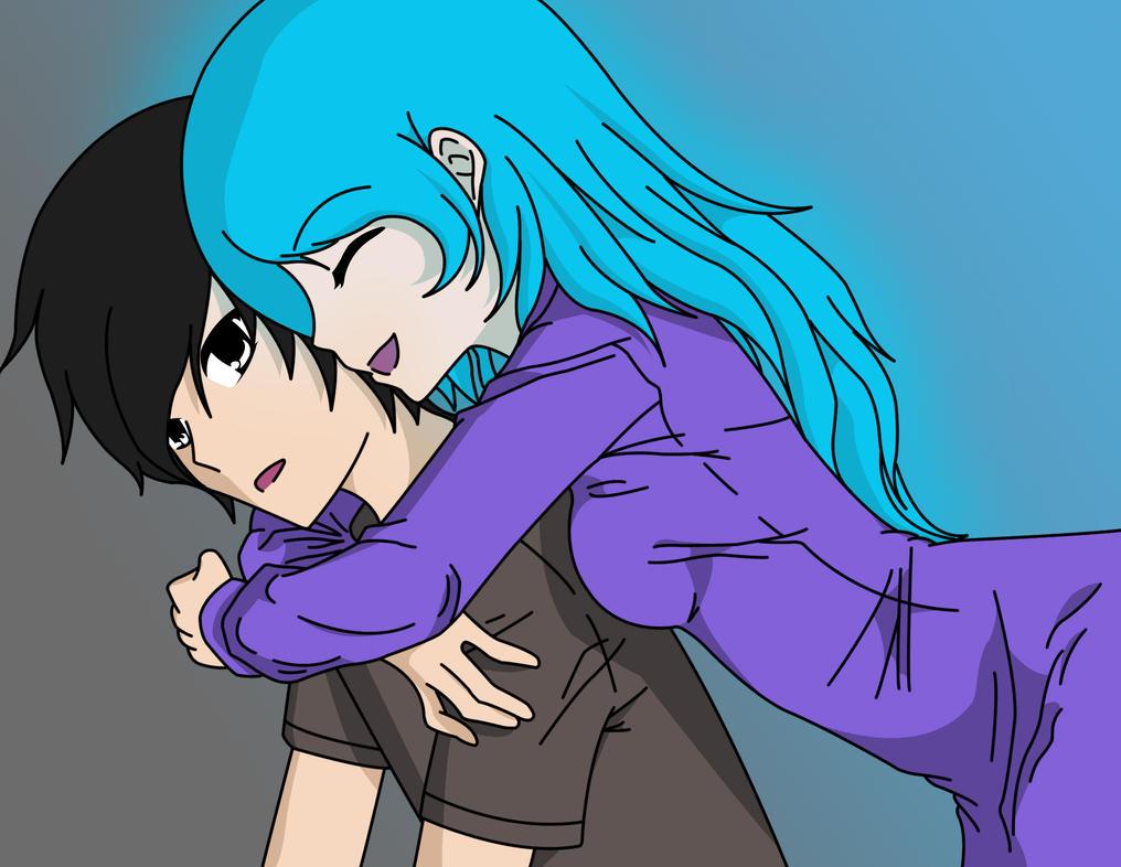 Surprise Hug :3 by CrimsonModify on DeviantArt