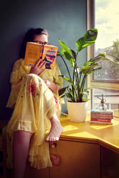 Books and plants 3