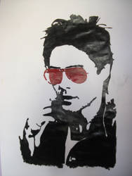 Jared Leto Painting by superbexter