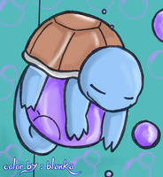 Squirtle-Color by Blankachan