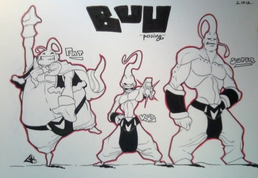 Buu commission Snap by G-Chris