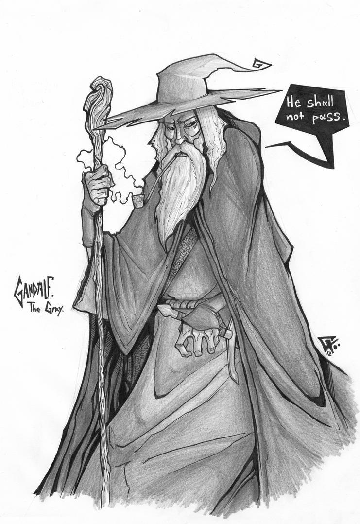 Gandalf The Gray by G-Chris