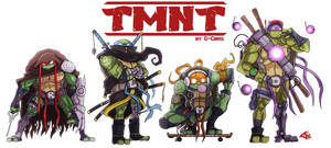 The Teenage Mutant Ninja Turtles