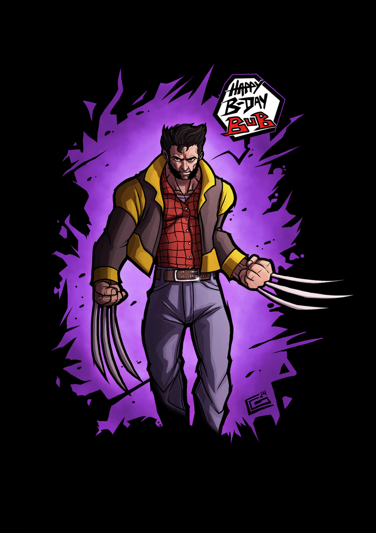 Wolverine_Poster_Commission by G-Chris