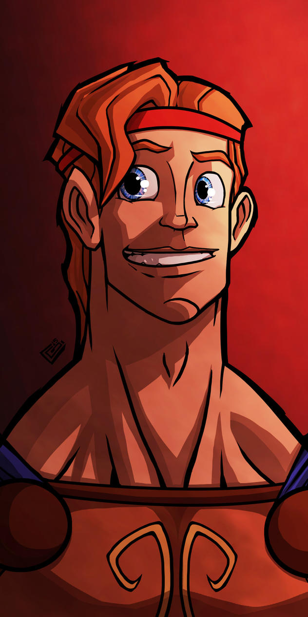 Herc Portrait Comm by G-Chris