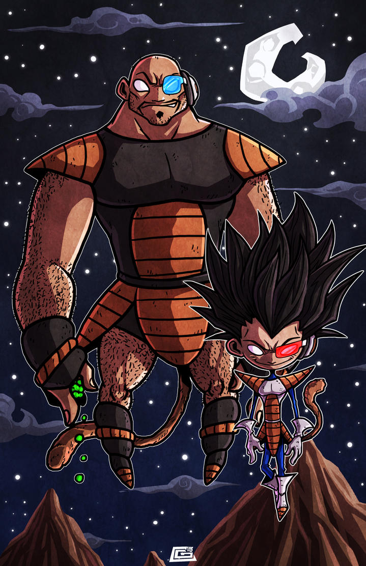 Saiyajins Commission by G-Chris