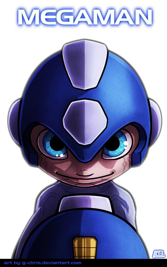 Megaman Commission by G-Chris
