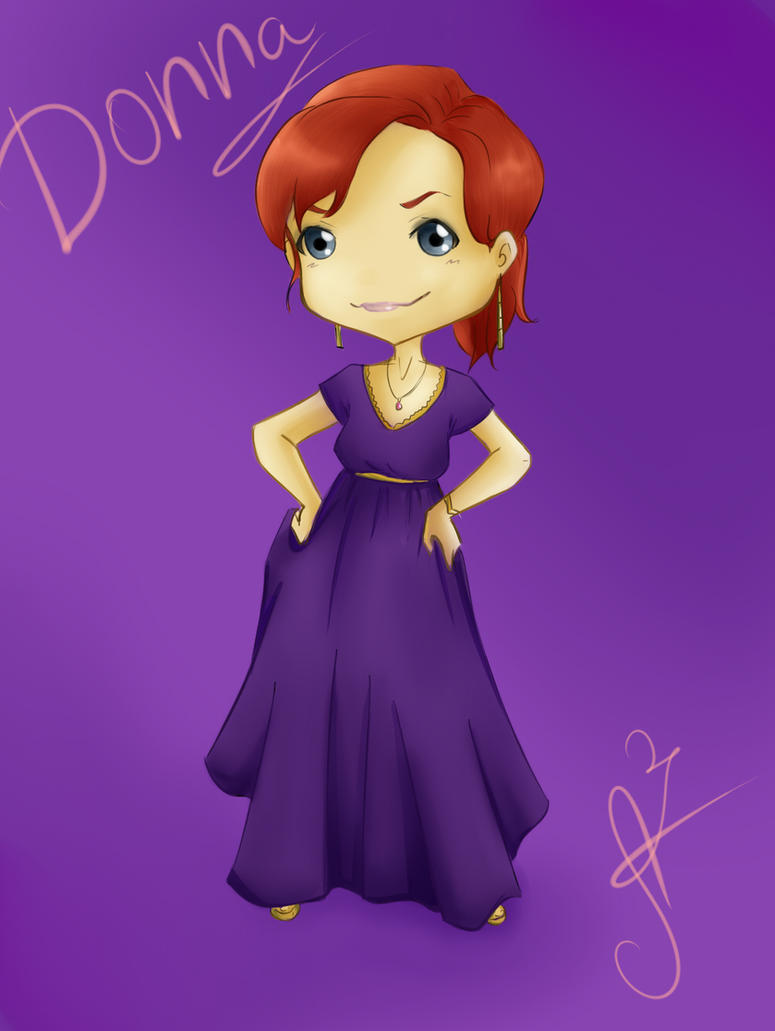 Donna chibi by Miss-Alex-Aphey