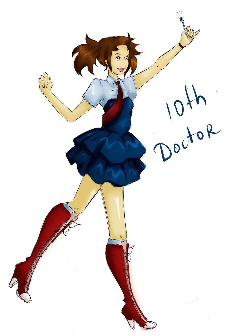 DW Fashion: The 10th Doctor #1 by Miss-Alex-Aphey