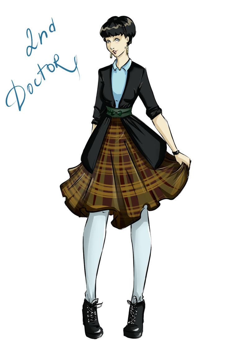 DW Fashion: The 2nd Doctor #1 by Miss-Alex-Aphey