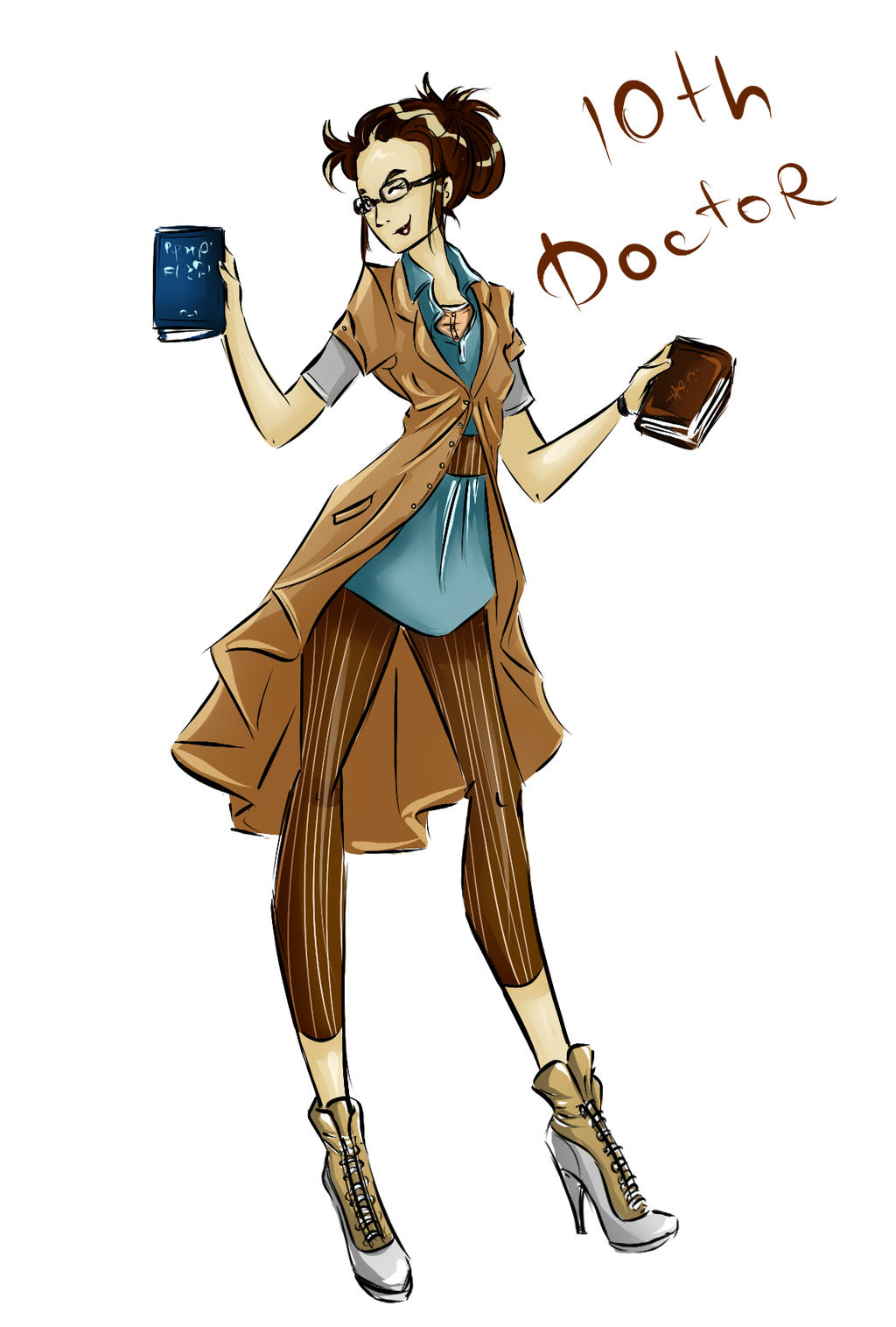 DW Fashion: The 10th Doctor #3 by Miss-Alex-Aphey