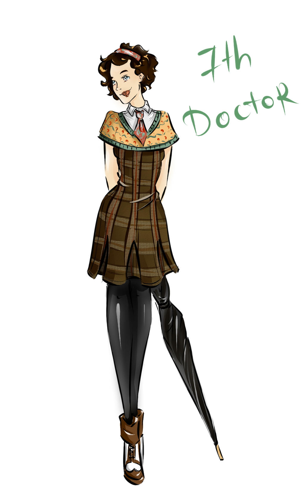 DW Fashion: The 7th Doctor #1 by Miss-Alex-Aphey