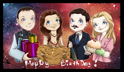Happy Birthday, Masha! by Miss-Alex-Aphey