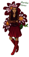 DW Flowers: Martha