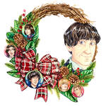 Second Christmas Wreath by Miss-Alex-Aphey