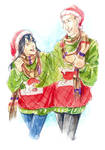 Ugly sweater for two by Miss-Alex-Aphey