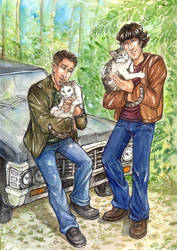 Sam and Dean and Sam and Dean Winchester