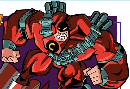 Crimson Chin 1980 in action