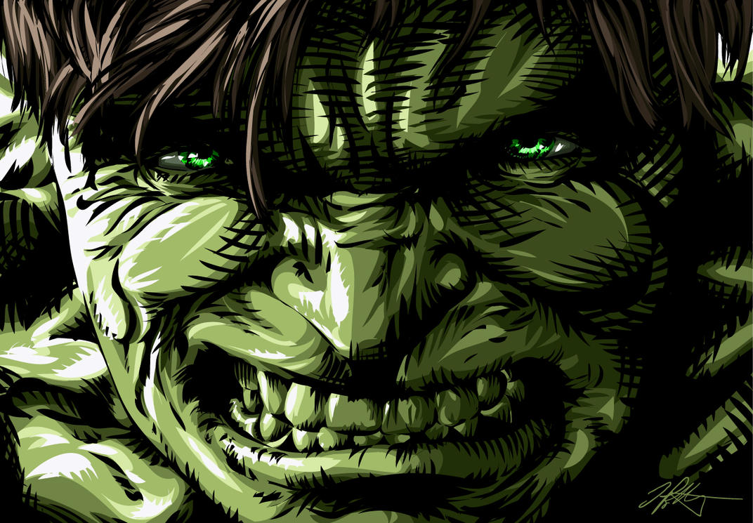 The Incredible Hulk by iamjamesporter