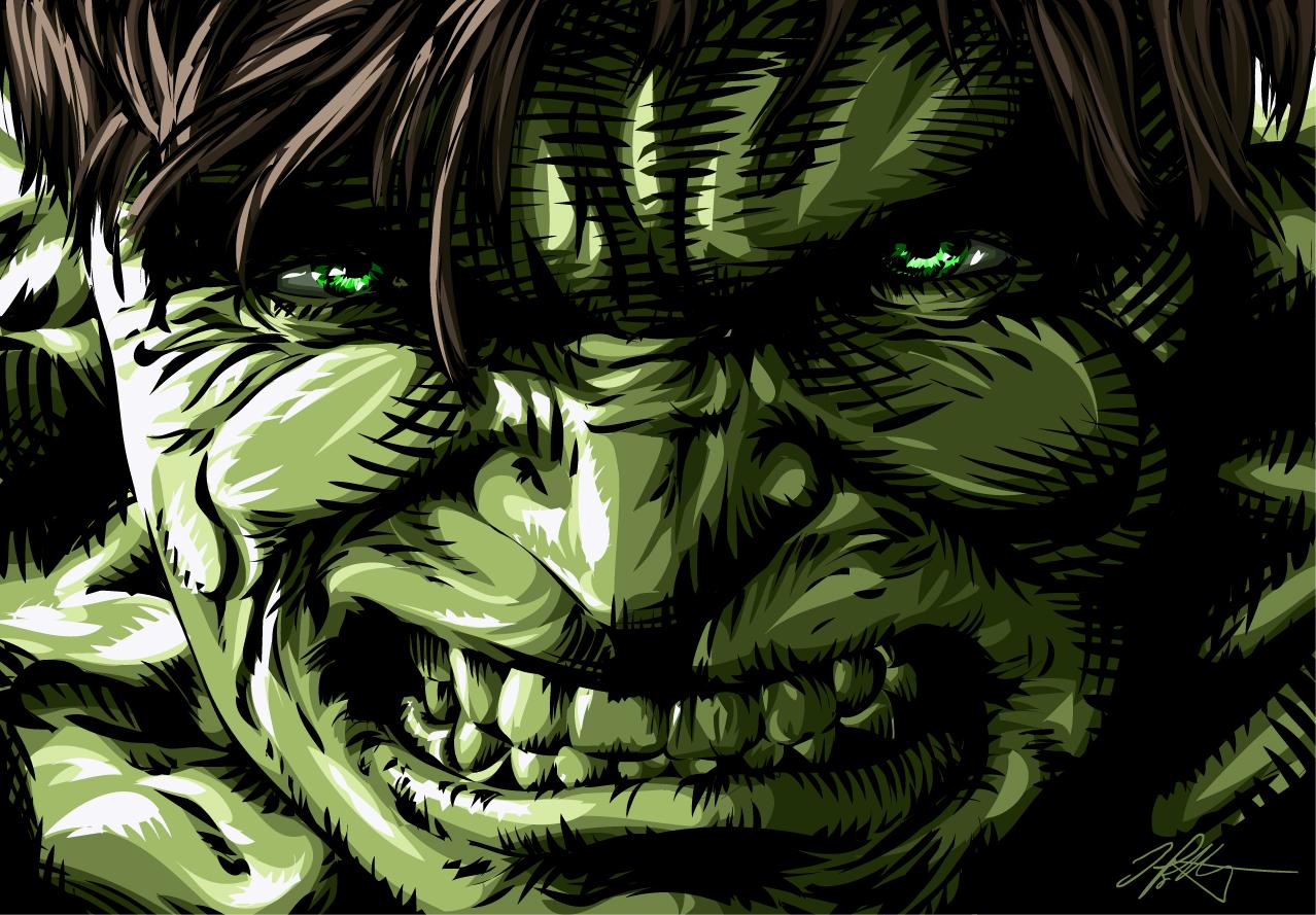 The Incredible Hulk by iamjamesporter