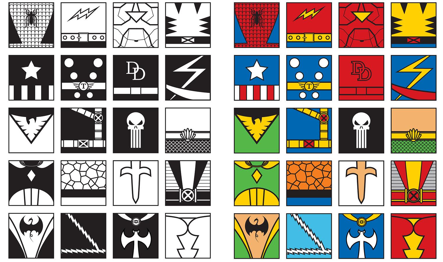 20 marvel hero icons by iamjamesporter on deviantart