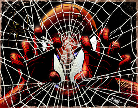 Spider-Man Colored by iamjamesporter