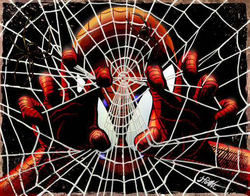 Spider-Man Colored