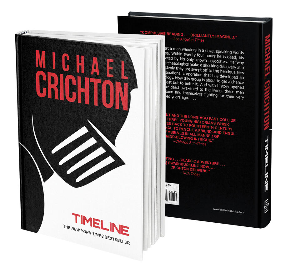 an analysis of timeline a novel by michael crichton Michael crichton once compared writing a novel to being deep in the bowels of a ship all you can see are the pipes and the issues through fiction on a wide range of important topics, he ignited analysis and debate among readers around the world as few writers have ever done crichton's strength.