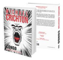 Book Cover - Congo by Michael Crichton