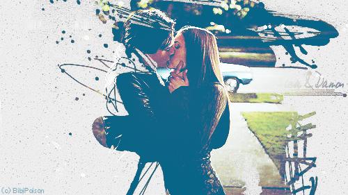 Vampire kiss by BibiPoison