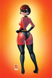 Mrs. Incredible by JorgeFranco
