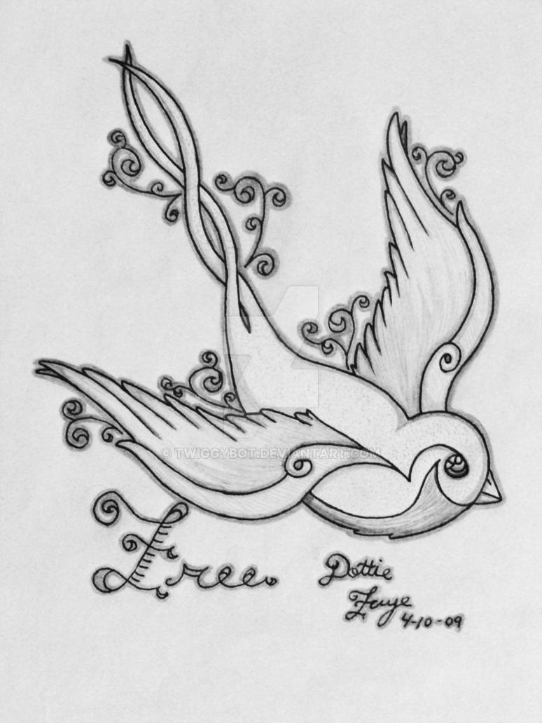 Free Sparrow by TwiggyBot