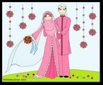 Married muslim couple