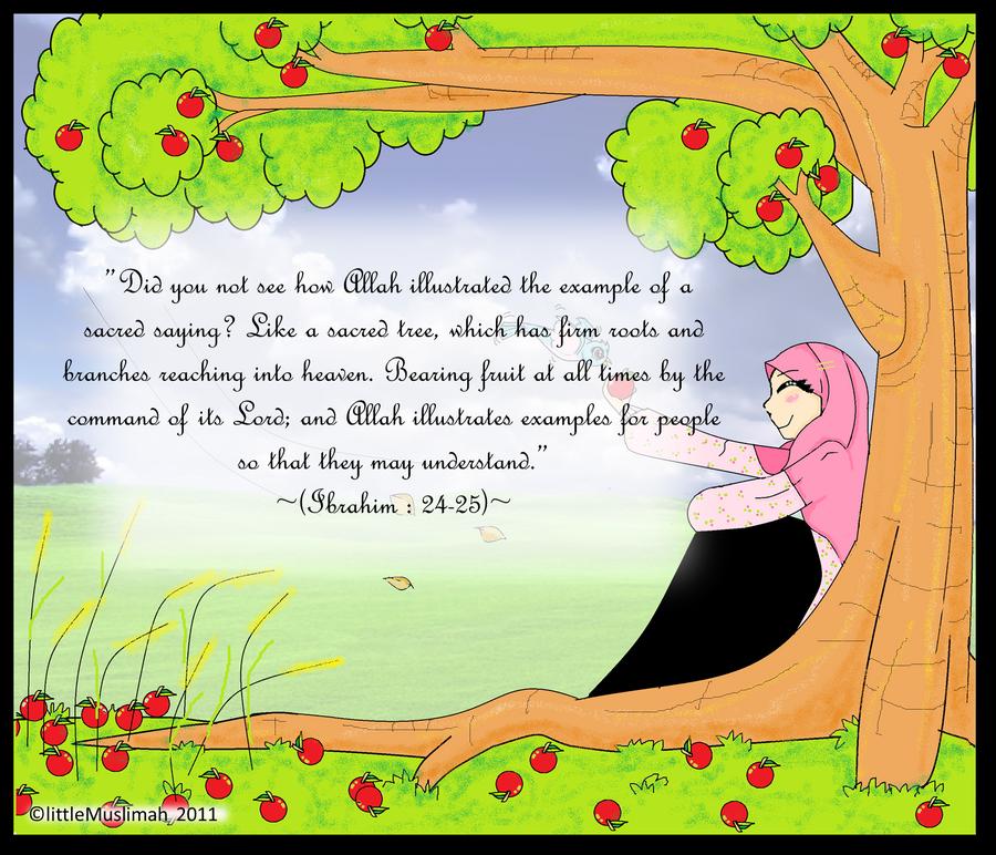 The Mu'min Tree by littleMuslimah