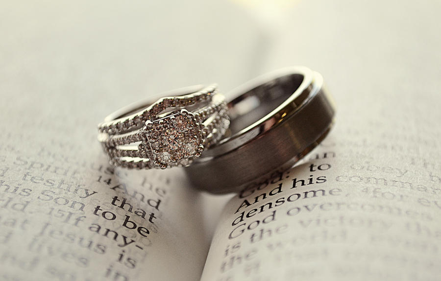 Wedding Rings on Bible by JenBarger on DeviantArt