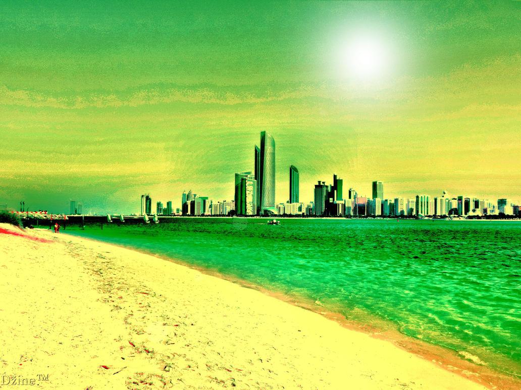 Abu Dhabi by dzinefull