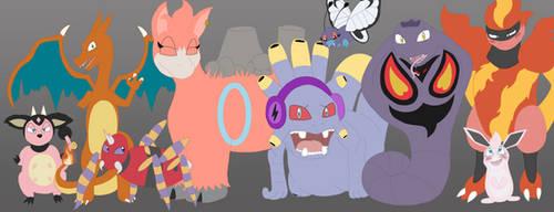 Contagious Joy Heroes II by PokeRouge