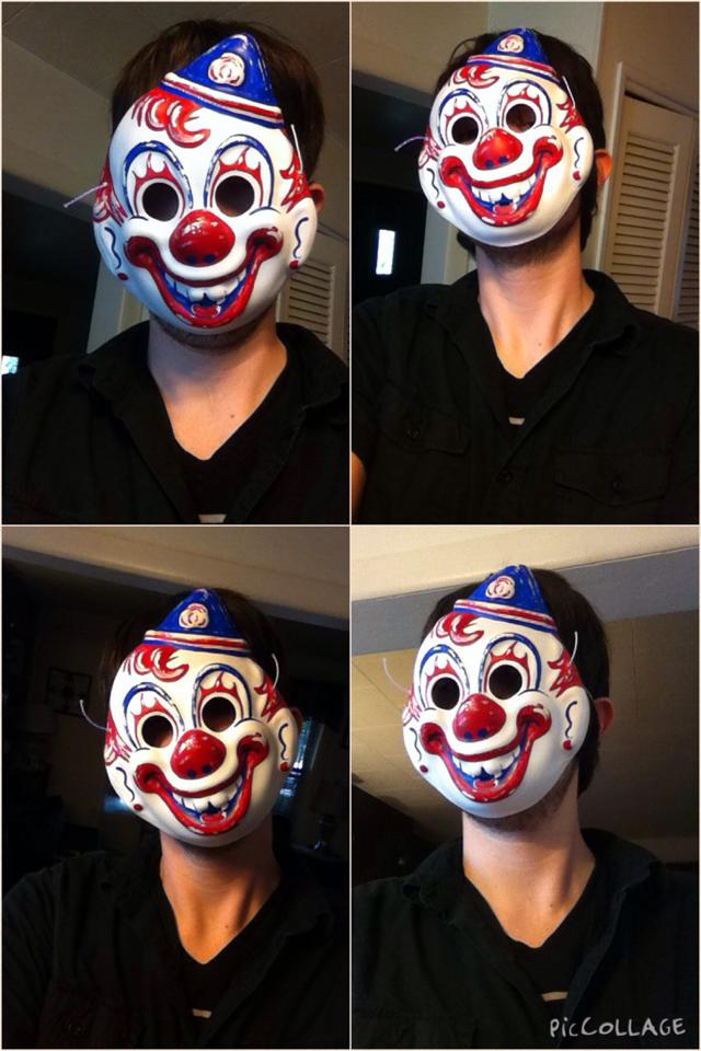 Halloween Clown Mask Michael Myers.Michael Myers Clown Mask By Wolfteen96 On Deviantart