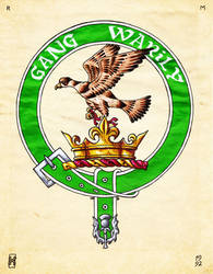 Clan Drummond Crest by Clisair