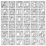 Sketch for Illuminated Uncials