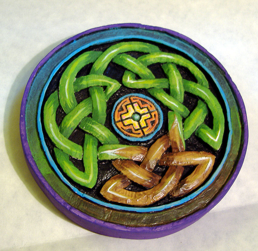 Carved Celtic Tree Of Life by Clisair
