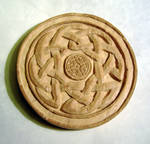 Carved Celtic Tree Of Life unpainted